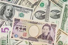 全球股市震荡 避险货币日元走高 提振美元兑日元