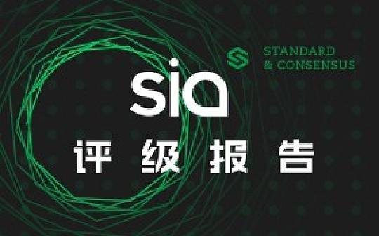 Sia分布式存储已初步实现  双代币系统创新性高|标准共识评级