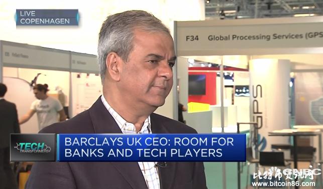 """CNBC:英国巴克莱银行向英国金管局交涉比特币""""启用""""事宜"""
