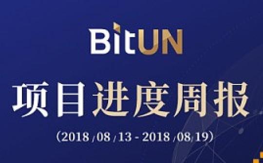 BitUN项目进展周报 8月13日至8月19日