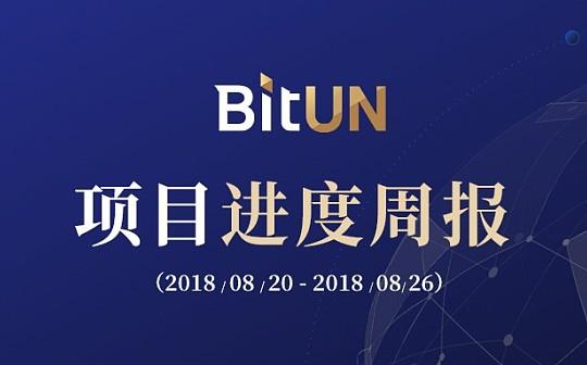 BitUN项目进展周报 8月20日至8月26日