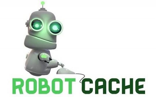 区块链游戏平台Robot Cache  抽成5%允许二手买卖