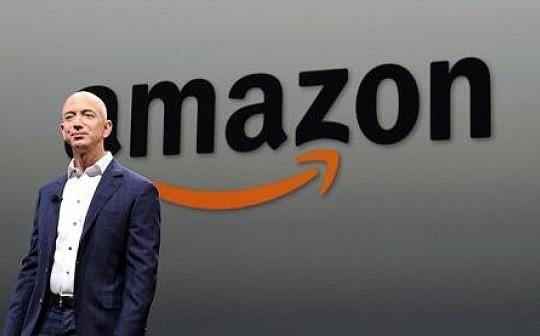 """市值破万亿美元     区块链会是亚马逊的下一个""""飞轮""""吗?"""
