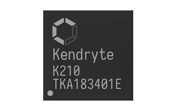 嘉楠耘智Kendryte K210人工智能芯片