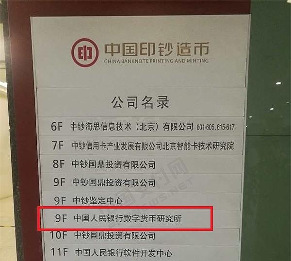 数字货币研究所挂牌