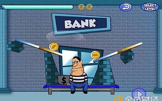 区块链游戏 RobTheBank 3小时充值 330 ETH
