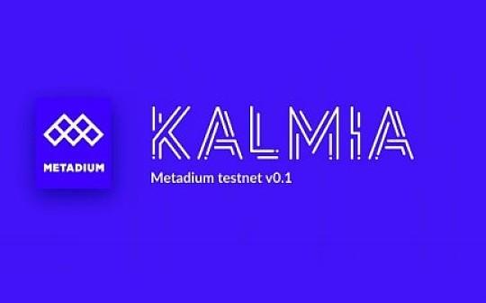 Metadium 测试网 v0.1 正式上线