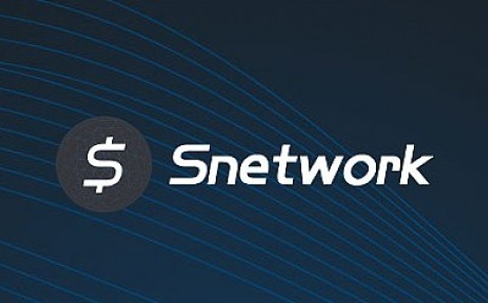熊市避空气 Snetwork项目落地实施:需求方采购计划完成 SNET将正式投入资源池