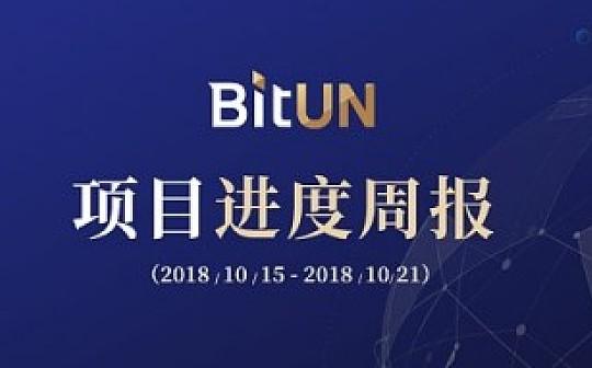 周报 | BitUN项目进展10.15-10.21