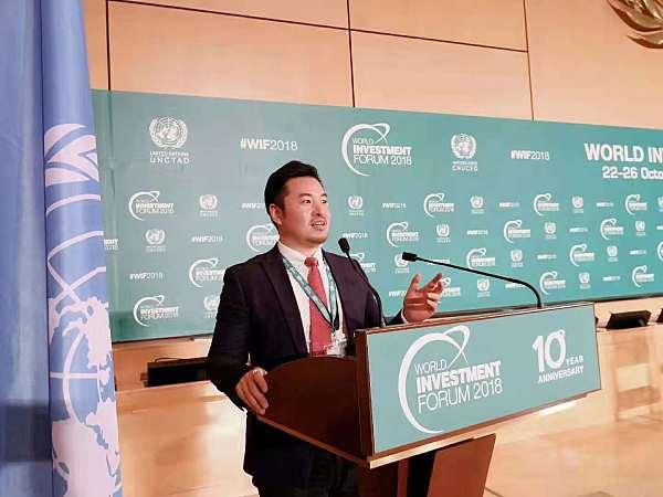 徐刚博士作为论坛重要组员受邀出席论坛并作《证券型通证经济改造――全球经济的下一场风暴》主题发言。