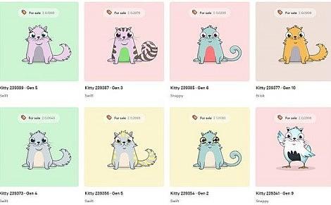 加密猫:一只价值百万的数字猫