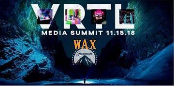 WAX参加VRTL Media Summit 2018