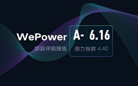 WePower:基于区块链的绿色能源融资交易平台 | ONETOP评级