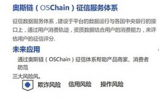 创新区块链应用奥斯商城OSCmall即将来临