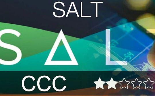 SALT评级报告(CCC)——用数字货币贷出法币面临严重的监管风险