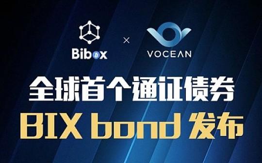 基于Vocean金融合约生态发行的Bibox首支数字货币债券 首批12小时售罄