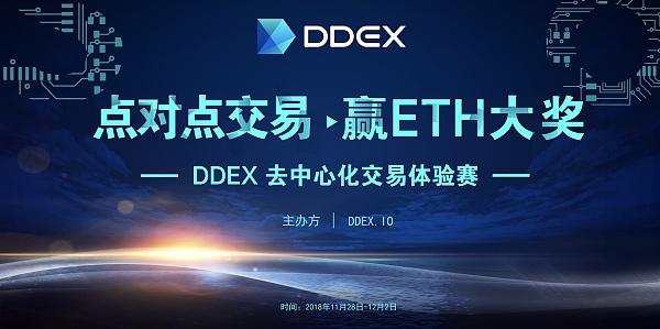 DDEX点对点交易体验大赛