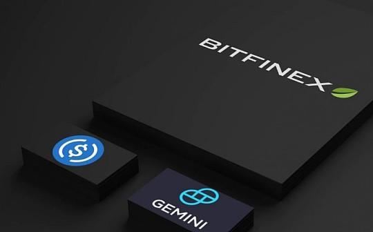 Bitfinex增加了四个稳定币 包括GUSD和USDC