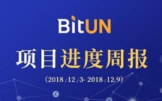 周报 | BitUN项目进展12.03-12.09