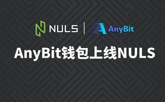 AnyBit钱包上线NULS