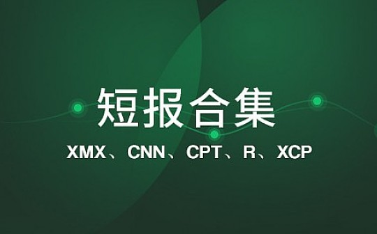 XMX 测试网仍未上线|标准共识评级短报合集