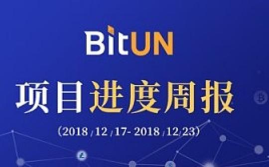 周报丨BitUN 项目周报12.17-12.23
