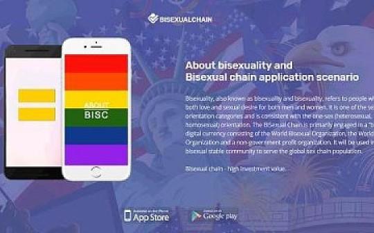 独家丨世界双性恋组织发行双性链BISC