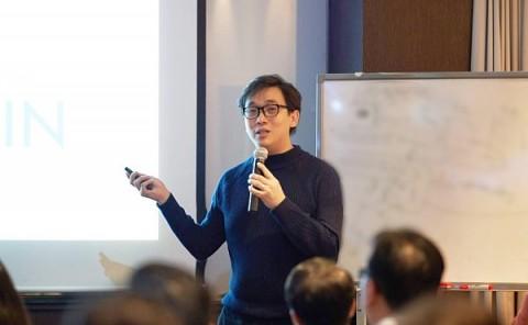 "Anndy Lian为新加坡区块链韩国访问团授课:LINFINITY的""定制化""区块链解决方案"