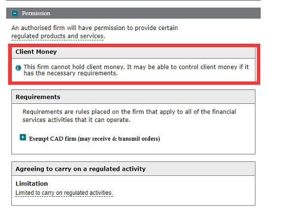 EEA、MM、STP、AR、IAR关于FCA的监管有多少?