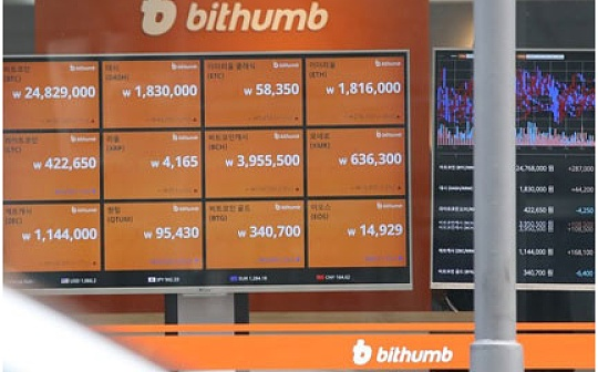 Bithumb推出机构投资者专项服务 交易量月增400%