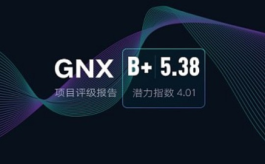 GNX:首个采用双层架构的智能数据生态 | ONETOP评级