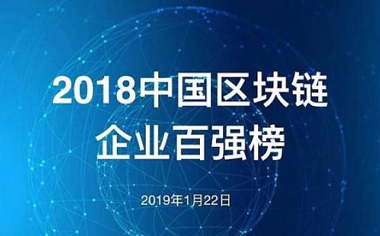 重磅| 旺链科技荣膺2018区块链百强企业(附完整榜单)
