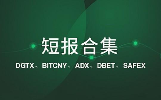 Digitex 交易平台仍未上线|标准共识评级短报合集