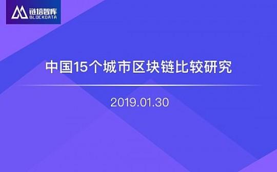 中国15个城市区块链比较研究   链塔智库