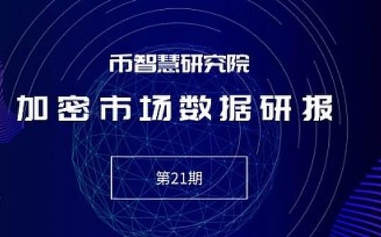 加密市场数据研报(第21期):Bakkt将在今年晚些时候推出 | 币智慧研究院