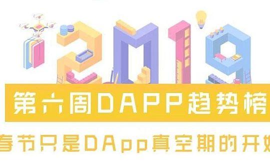 第六周DAPP趋势榜:春节只是DApp真空期的开始