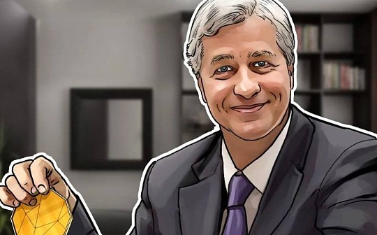 杰米戴蒙表示 JPM Coin最终可能会发现消费者的使用情况
