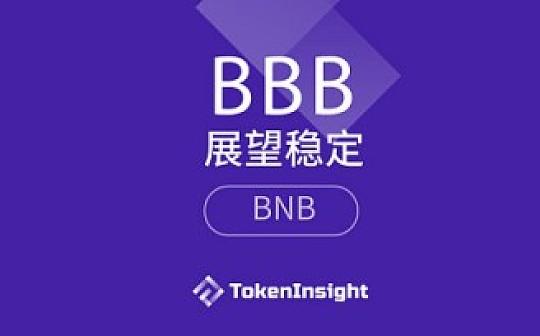 Binance Coin:评级维持BBB,展望稳定|TokenInsight 评级报告