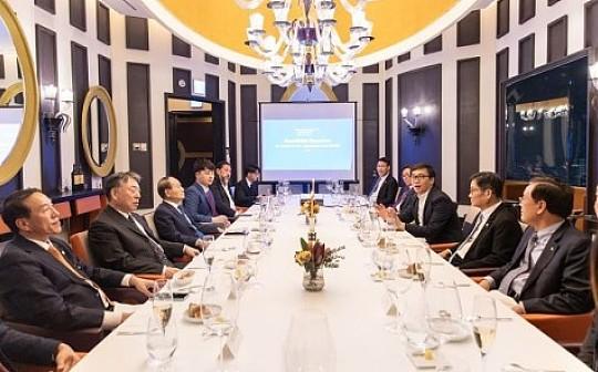 峰会 | LINFINITY韩国圆桌会议就区块链与传统行业的融合达成共识