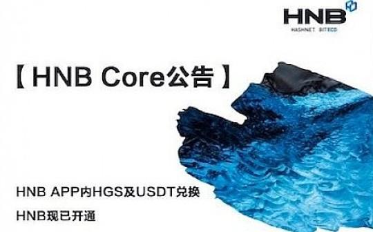 HNB APP内HGS及USDT兑换HNB现已开通