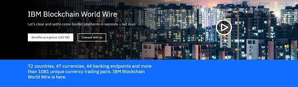 IBM布局区块链 跨境支付或将重新洗牌