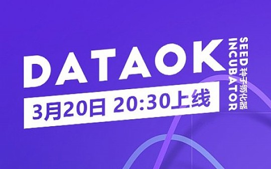 币客BKEX上线Seed Incubator首个孵化项目DataOK(DTO)