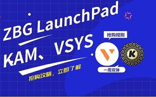 ZBG LaunchPad——KAM、VSYS抢购教程
