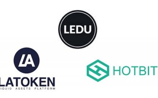 LEDU 将登陆 LATOKEN 和 Hotbit 交易所