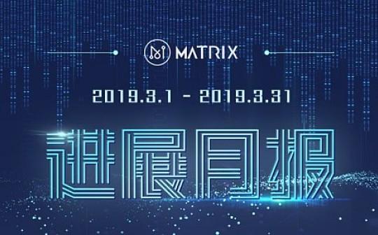 MATRIX 2019年3月项目月报