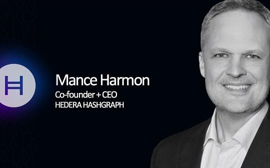 Mance Harmon:一旦监管明确 大企业下场将成为不可阻挡的事情