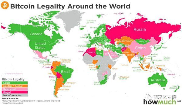 99国家对比特币持正面态度 区块链被认为第四次工业革命