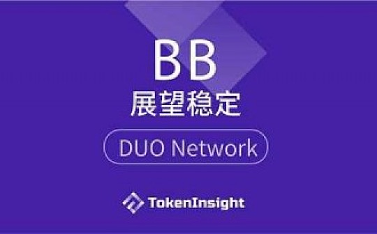 ?DUO Network项目评级:BB  展望稳定 | TokenInsight