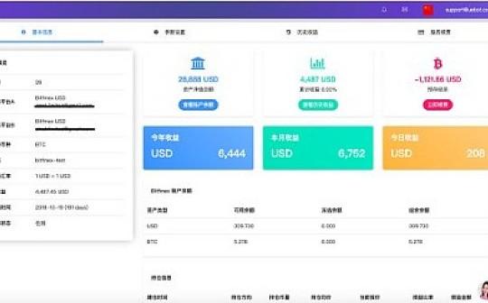 UEBOT比特币量化交易实盘 4月28日:  平仓实盈0.4%
