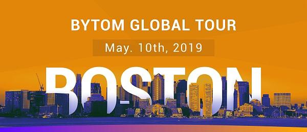 2019 Bytom Global Tour Boston